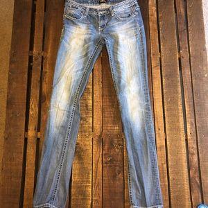 Long length skinny jean